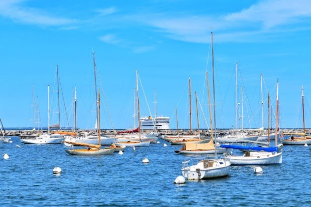 Summer On Martha's Vineyard Boats