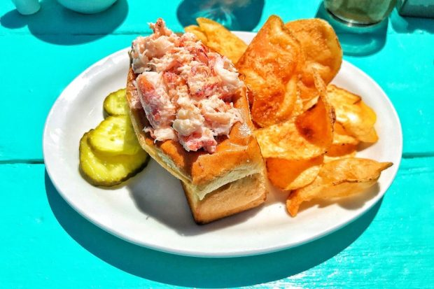 Aquinnah lobster roll