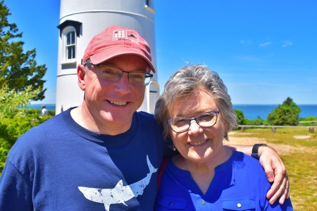June on Martha's Vineyard Mother and son