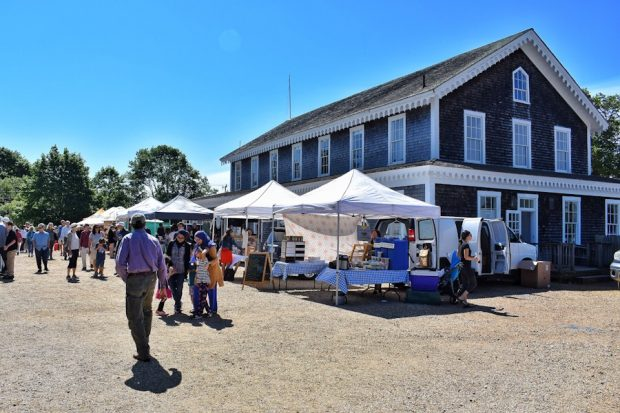 More firsts On Martha's Vineyard Farmers Market