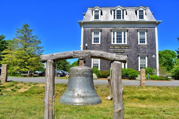 More Firsts On Martha's Vineyard West Tisbury Town Hall
