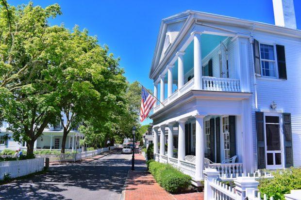 Edgartown Martha's Vineyard Water Street