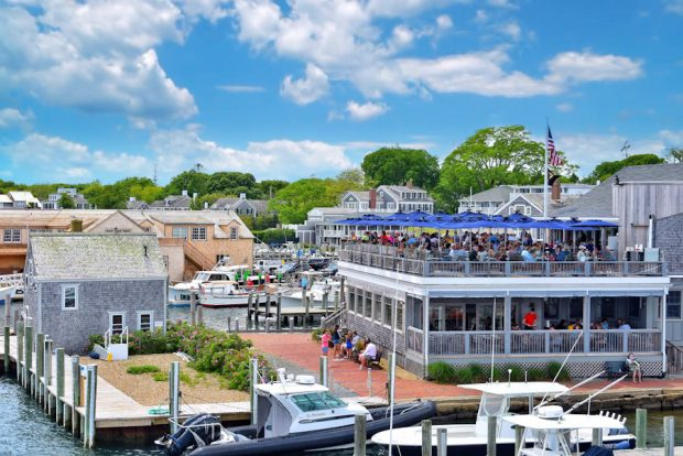 Lunch at The Seafood Shanty Edgartown